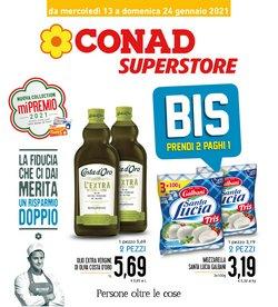 Offerte Iper Supermercati nella volantino di Conad Superstore a Messina ( Per altri 3 giorni )
