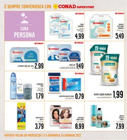 Offerte di Pampers a Conad Superstore