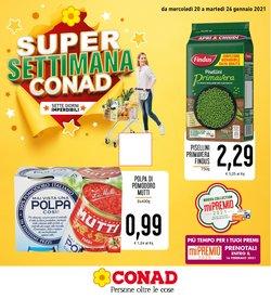 Offerte Iper Supermercati nella volantino di Conad Superstore a Catania ( Scade domani )