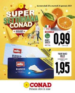 Offerte Iper Supermercati nella volantino di Conad Superstore a Fabriano ( Pubblicato ieri )
