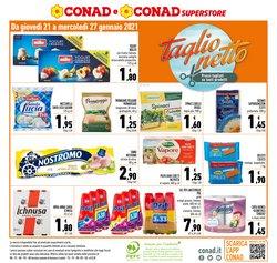 Offerte Iper Supermercati nella volantino di Conad Superstore a Macerata ( Scade oggi )