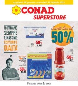 Offerte Iper Supermercati nella volantino di Conad Superstore a Savona ( 2  gg pubblicati )