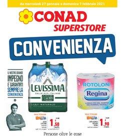 Offerte Iper Supermercati nella volantino di Conad Superstore a Civitavecchia ( 2  gg pubblicati )