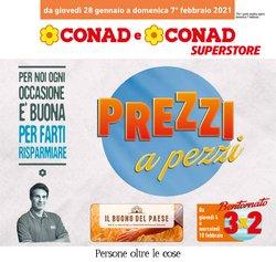 Offerte Iper Supermercati nella volantino di Conad Superstore a Macerata ( Pubblicato oggi )