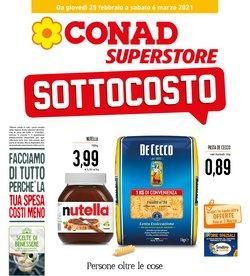 Catalogo Conad Superstore a Palermo ( Scade domani )