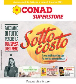 Catalogo Conad Superstore a Lissone ( Per altri 5 giorni )