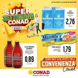 Offerte Iper Supermercati nella volantino di Conad Superstore a Trapani ( 3  gg pubblicati )