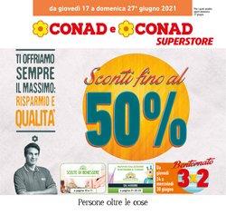 Offerte di Conad Superstore nella volantino di Conad Superstore ( Pubblicato ieri)