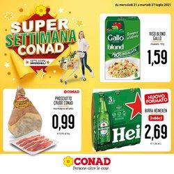 Offerte di Iper Supermercati nella volantino di Conad Superstore ( Scade domani)