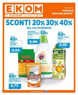 Offerte Discount nella volantino di Ekom a Carmagnola ( Per altri 2 giorni )
