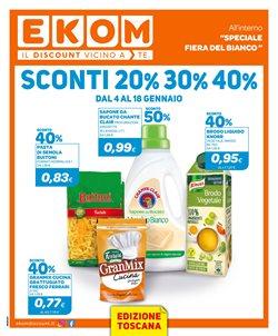 Offerte Discount nella volantino di Ekom a Lucca ( Scade oggi )