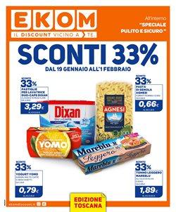 Offerte Discount nella volantino di Ekom a Massa ( Pubblicato oggi )