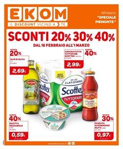 Offerte Discount nella volantino di Ekom a Torino ( Scade domani )