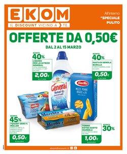 Offerte Discount nella volantino di Ekom a Cagliari ( 3  gg pubblicati )
