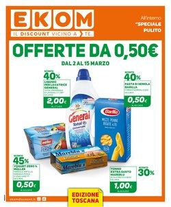 Offerte Discount nella volantino di Ekom a La Spezia ( Pubblicato ieri )