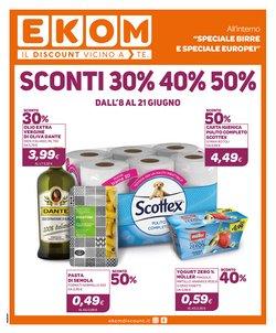 Offerte di Discount nella volantino di Ekom ( Per altri 2 giorni)