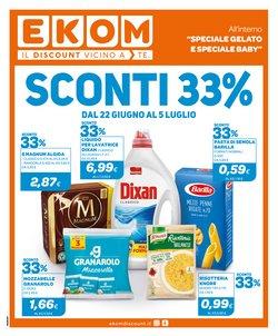 Offerte di Discount nella volantino di Ekom ( Pubblicato oggi)