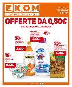 Offerte di Discount nella volantino di Ekom ( Per altri 3 giorni)