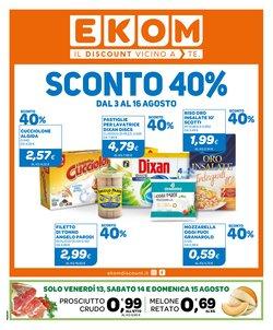 Offerte di Discount nella volantino di Ekom ( Per altri 11 giorni)