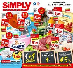 Offerte Iper Supermercati nella volantino di Simply Market a Trapani ( Pubblicato oggi )
