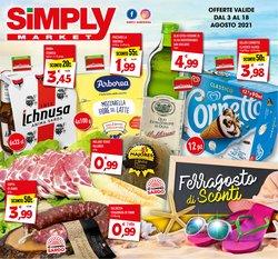 Offerte di Iper Supermercati nella volantino di Simply Market ( Pubblicato ieri)
