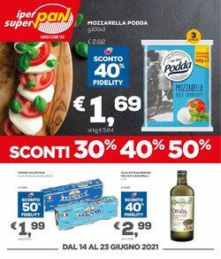 Offerte di Iper Supermercati nella volantino di Pan ( Scade domani)