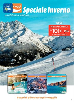 Offerte Viaggi nella volantino di Eurospin Viaggi a Benevento ( Più di un mese )