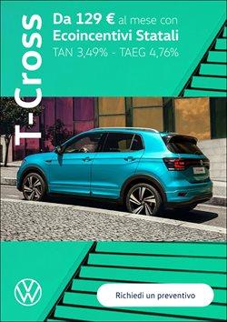 Offerte Auto, Moto e Ricambi nella volantino di Volkswagen a Torino ( Pubblicato ieri )