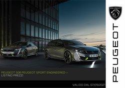 Offerte di Auto, Moto e Ricambi nella volantino di Peugeot ( Pubblicato oggi)