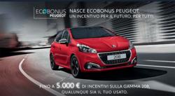 Offerte di Peugeot nella volantino di Biancavilla