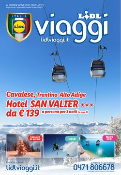 Offerte Viaggi nella volantino di Lidl Viaggi a Trapani ( Più di un mese )