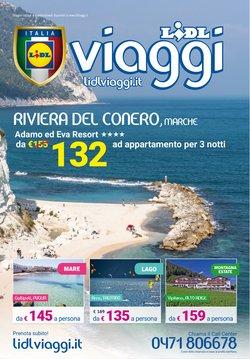 Offerte Viaggi nella volantino di Lidl Viaggi a Grugliasco ( Più di un mese )