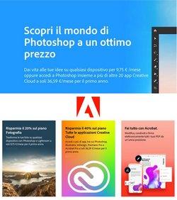 Offerte di Adobe nella volantino di Adobe ( Per altri 3 giorni)