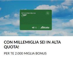 Offerte di Alitalia nella volantino di Roma