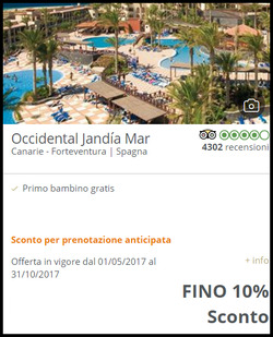 Offerte di Barcelò Hotel nella volantino di Roma