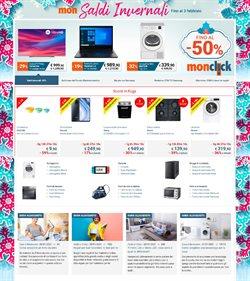 Offerte Elettronica e Informatica nella volantino di Monclick a Barletta ( Pubblicato oggi )