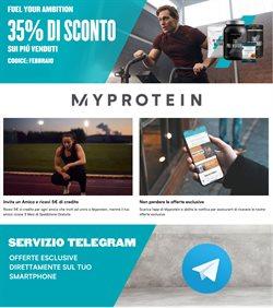 Offerte Sport nella volantino di My Protein a Alba ( Scade domani )