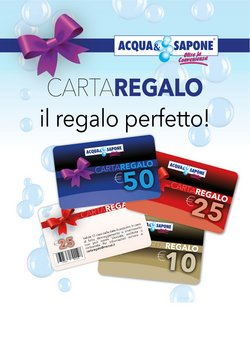 Catalogo Acqua e Sapone a Rieti ( Più di un mese )