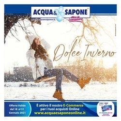 Catalogo Acqua e Sapone ( Pubblicato ieri )