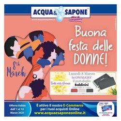 Offerte Profumeria e Bellezza nella volantino di Acqua e Sapone a Modica ( 3  gg pubblicati )