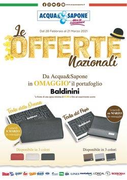 Offerte Profumeria e Bellezza nella volantino di Acqua e Sapone a Padova ( Pubblicato oggi )