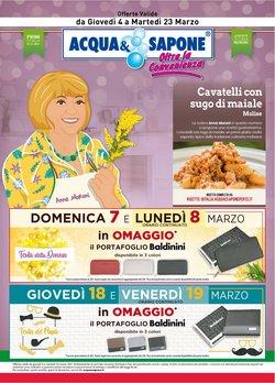 Offerte Profumeria e Bellezza nella volantino di Acqua e Sapone a La Spezia ( Pubblicato oggi )
