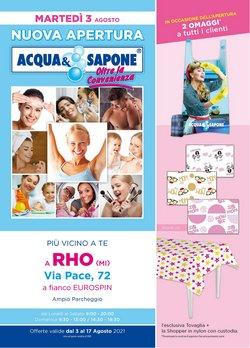 Catalogo Acqua e Sapone ( Per altri 12 giorni)
