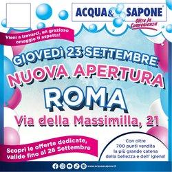 Catalogo Acqua e Sapone ( Scade oggi)