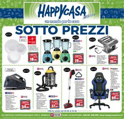 Offerte di Happy Casa nella volantino di Happy Casa ( Scade domani)