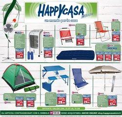 Offerte di Tutto per la casa e Arredamento nella volantino di Happy Casa ( Pubblicato ieri)