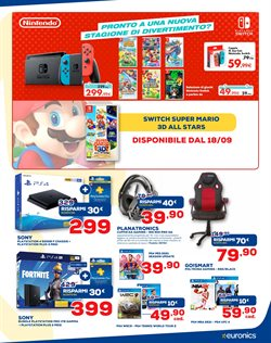 Offerte di PlayStation 4 a Euronics