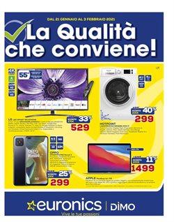 Offerte Elettronica e Informatica nella volantino di Euronics a Genova ( Per altri 7 giorni )