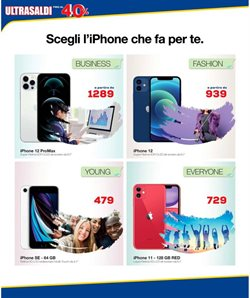 Offerte di IPhone SE a Euronics