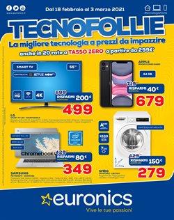 Offerte di smartphone nella volantino di Euronics ( Per altri 5 giorni)
